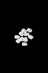 Gun Glidere   10-pak Hvid