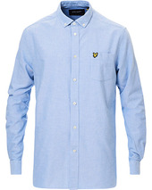 Lyle & Scott Lightweight Oxford Shirt Riviera Blue
