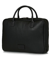 Anderson's Full Grain Leather Briefcase Black
