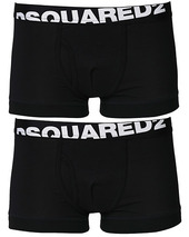 Dsquared2 2-pack Cotton Stretch Trunk Black