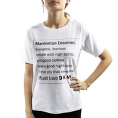 Dkny Spell It Out Short Sleeve Tee