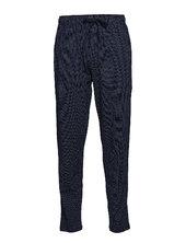 Long Pants Hyggebukser Blå Schiesser