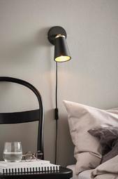 Stubbs Væglampe Sort/guldfarvet