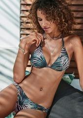 Lascana Bikinitrusse  Sort / Blandingsfarvet
