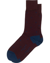 Falke Cotton Dot Sock Barolo/navy