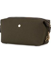 Mismo M/s Canvas Washbag Army/dark Brown