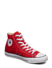 All Star Hi Red High-top Sneakers Rød Converse