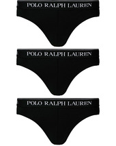 Polo Ralph Lauren 3-pack Low Rise Brief Black