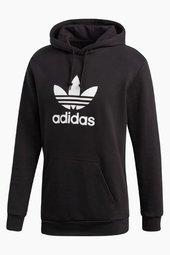 Trefoil Hoodie Dt7964 - Black - Adidas Originals - Sort S