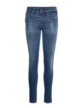 New Luz Skinny Jeans Blå Replay