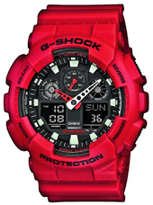 Casio G-shock Herreur Ga-100b-4aer Sort/resinplast Ø51.2 Mm