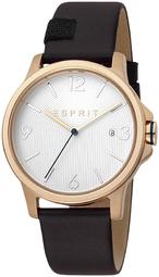 Esprit 99999 Herreur Es1g156l0035 Sølvfarvet/læder Ø40 Mm