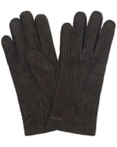Hestra Arthur Wool Lined Suede Glove Black