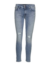 New Luz Skinny Jeans Blå Replay
