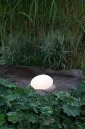 Solcelledekoration Globy 26,5 Cm Hvid