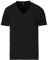 Replay V-neck Tee Black