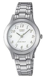 Casio Casio Collection Dameur Ltp-1128a-7bef Hvid/stål Ø27 Mm