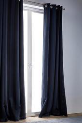Twilight Gardinlængde Med Sejlringe 1-pak Blå