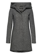 Onlsedona Light Coat Otw Noos Tynd Frakke Grå Only