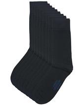 9-pack True Cotton Socks Dark Navy
