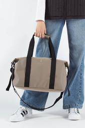 Weekend Bag Small - Velvet Taupe - Rains - Sand One Size
