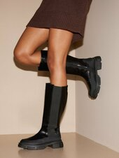 Duffy Extra Chelsea Boots Knee-high