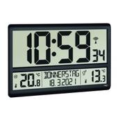 Digital Xl Radiokontrolleret Ur Med Temperatur