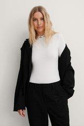 Calvin Klein Body Med Logo - White