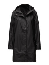 Stala Jacket 7357 Outerwear Rainwear Rain Coats Sort Samsøe Samsøe