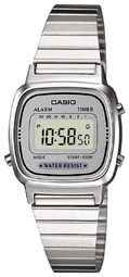 Casio Casio Collection Dameur La670wea-7ef Lcd/stål 30.3x24.6 Mm