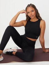 Better Bodies Rib Seamless Top Top Tight Fit