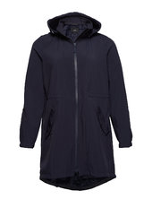 Softshell Jacket Waterproof Soft And Warm Parkacoat Jakke Blå Zizzi