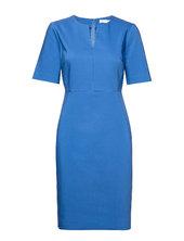 Zella Dress Knælang Kjole Blå Inwear