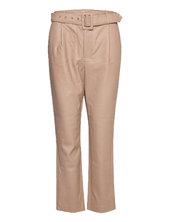 Vitylda Hwre 7/8 Pants Leather Leggings/bukser Beige Vila