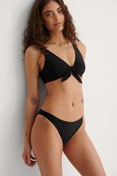 Na-kd Swimwear Klassisk Bikinitrusse I Genanvendt Materiale - Black