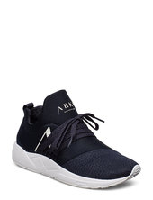 Raven Mesh Pet S-e15 Midnight - Wom Low-top Sneakers Sort Arkk Copenhagen