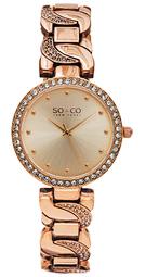 So & Co New York Soho Dameur 5062.3 Rosa Guldfarvet/rosaguldtonet