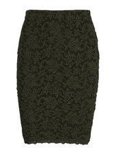 Skirt Kort Nederdel Grøn Rosemunde