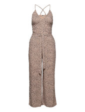 Anf Womens Dresses Jumpsuit Beige Abercrombie & Fitch