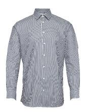 Slhslimethan Shirt Ls Classic Skjorte Casual Blå Selected Homme