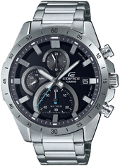 Casio Edifice Herreur Efr-571d-1avuef Sort/stål Ø44 Mm