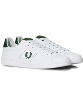 Fred Perry B721 Leather Sneakers White/ivy