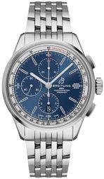 Breitling Premier Chronograph 42 Herreur A13315351c1a1 Blå/stål