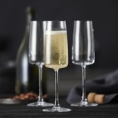 Lyngby Glas - Champagneglas Zero - 4 Stk.