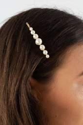 Joselyn Pin - White - Pico - Hvid One Size
