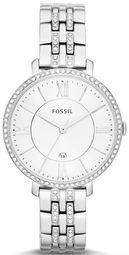 Fossil Jacqueline Dameur Es3545 Hvid/stål Ø36 Mm