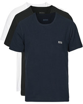 Boss 3-pack Crew Neck Tee Navy/black/white