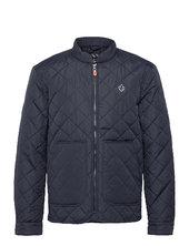 Kensington Quilted Jacket Quiltet Jakke Blå Morris