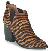 Støvletter Wonders  M4102-zebrato-cuero