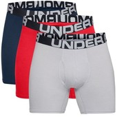 Under Armour 3-pak Charged Cotton 6in Boxer